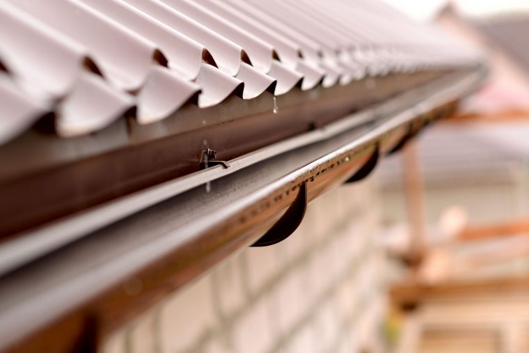 What Does the Guttering System Do?